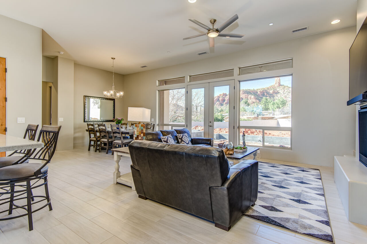 Single Level Home - Great Room with