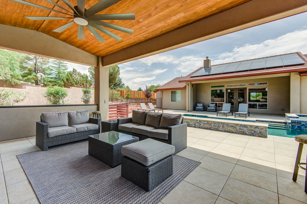 Completely New Landscaped and Renovated Backyard!