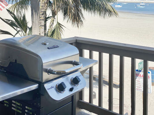 BBQ with Bay Views