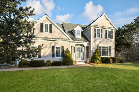 Front view of Somerset Serenity - 1 Somerset Road Harwich Cape Cod - New England Vacation Rentals
