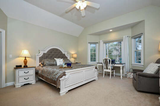 Master Bedroom 1 - King Size - 1 Somerset Road Harwich Cape Cod - New England Vacation Rentals