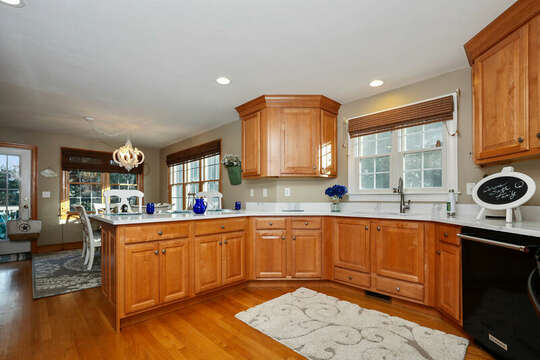 Plenty of cabinet space in open kitchen - 1 Somerset Road Harwich Cape Cod - New England Vacation Rentals
