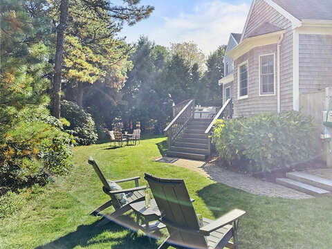 Multiple outdoor areas to relax and unwind - 1 Somerset Road Harwich Cape Cod - New England Vacation Rentals