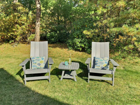 Perfect spot for iced tea and a great book! - 1 Somerset Road Harwich Cape Cod - New England Vacation Rentals