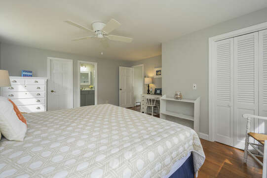King Bed in Bedroom #2 - 35 Vacation Lane Harwich Cape Cod - New England Vacation Rentals