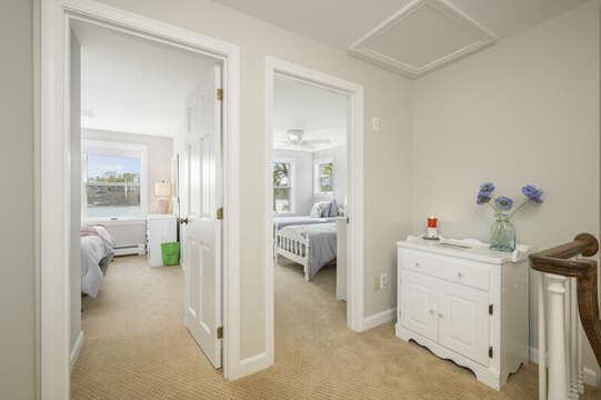 Bedroom #3 and #4 - 35 Vacation Lane Harwich Cape Cod - New England Vacation Rentals