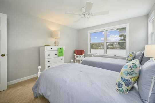 Bedroom #3 - Two Twins - 35 Vacation Lane Harwich Cape Cod - New England Vacation Rentals