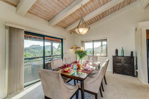 Dining Space with Great Views