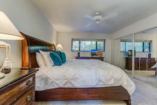 Master Bedroom with a King Bed, 32