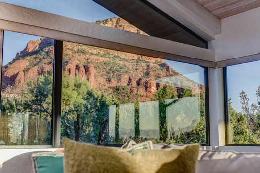 Amazing Red Rock Views from Inside the House