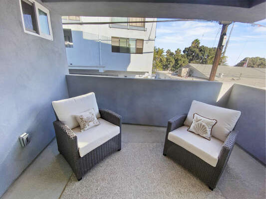 Master Balcony - Second Floor