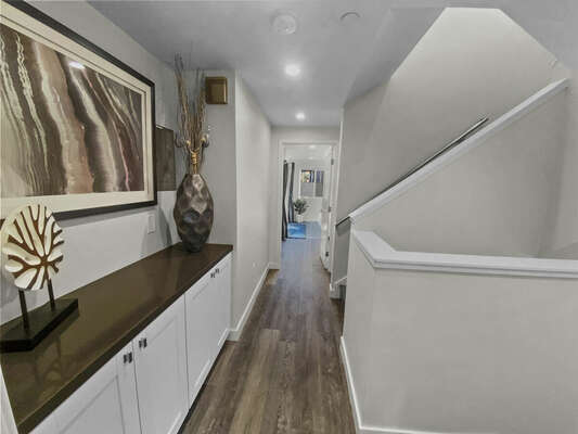 Second Floor Hallway and Stairwell