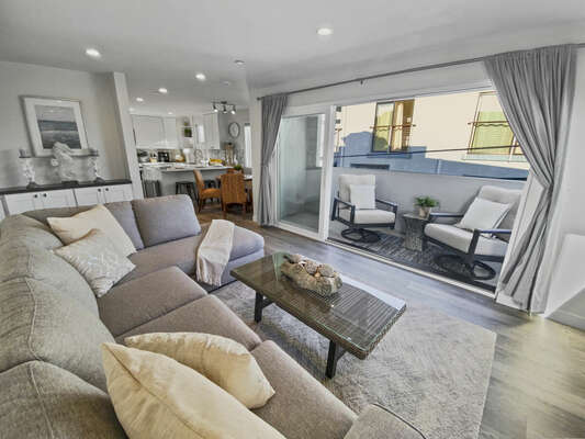 Living Room - Third Floor