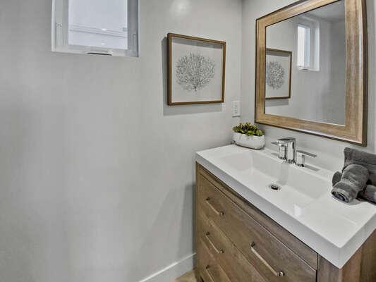 Half Bath - Third Floor