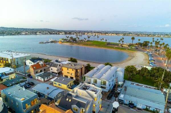 Aerial View - Just 1 Building from Mission Bay