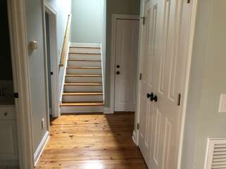 Light filled stairwell to second floor bedrooms