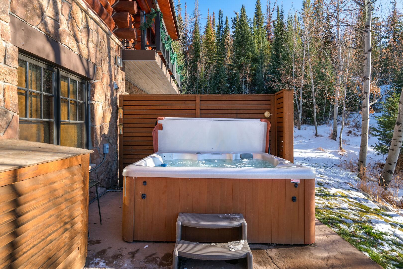 6 person hot tub!