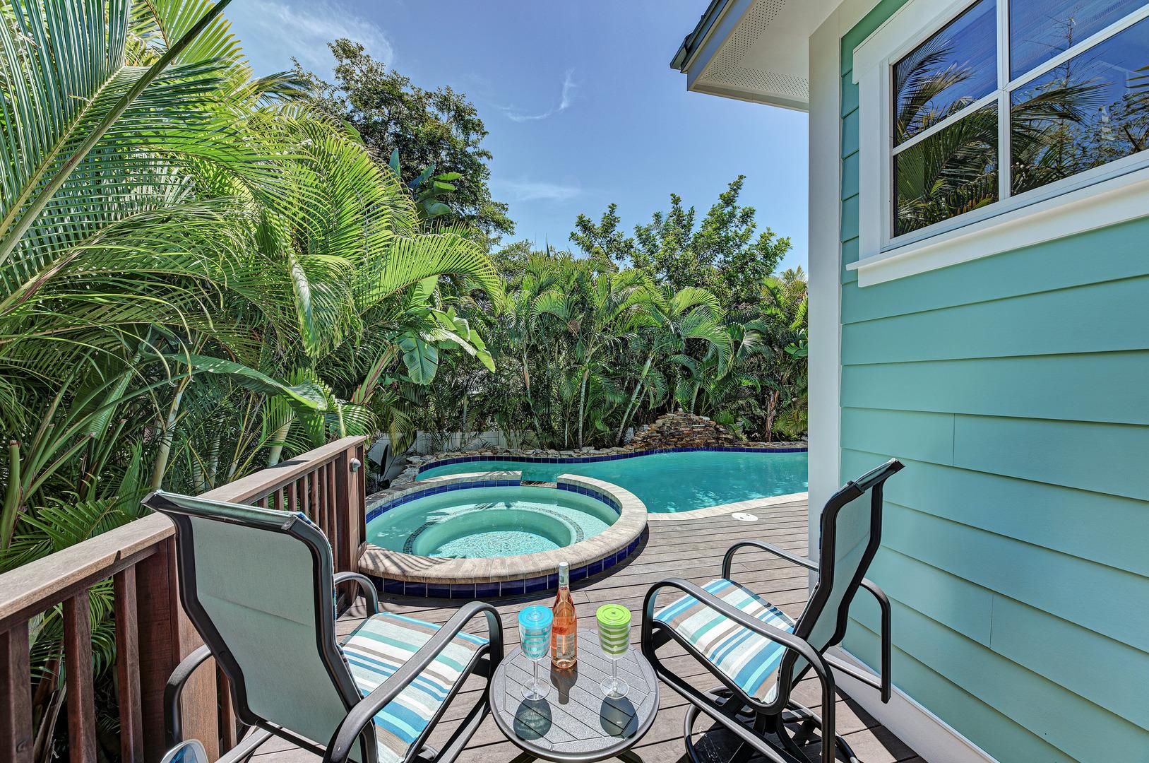 Blue Palm Paradise spa