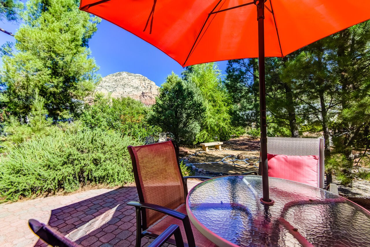 Take in the Fresh Air and Stunning Red Rock Views