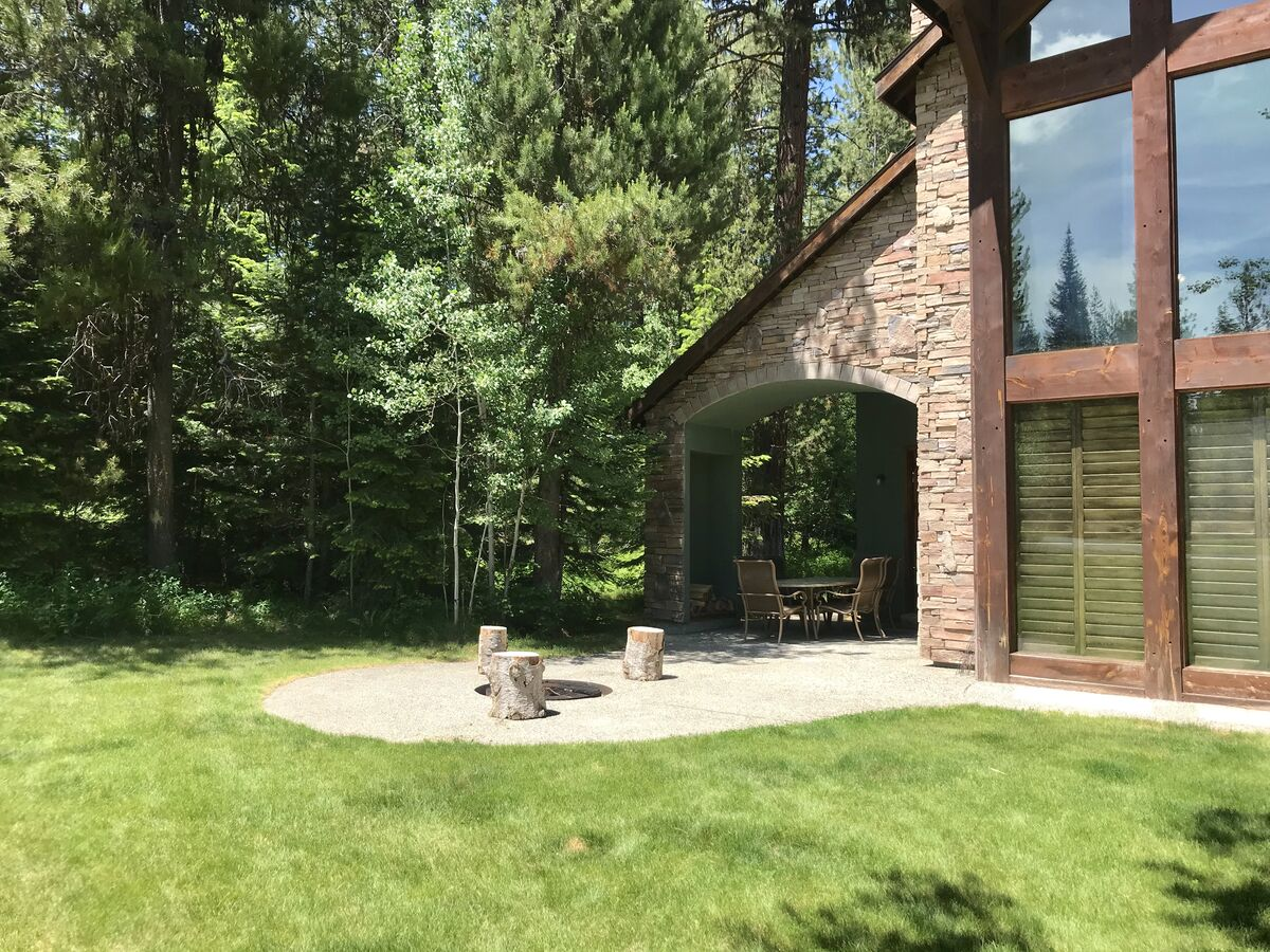 Yard and Fire Pit