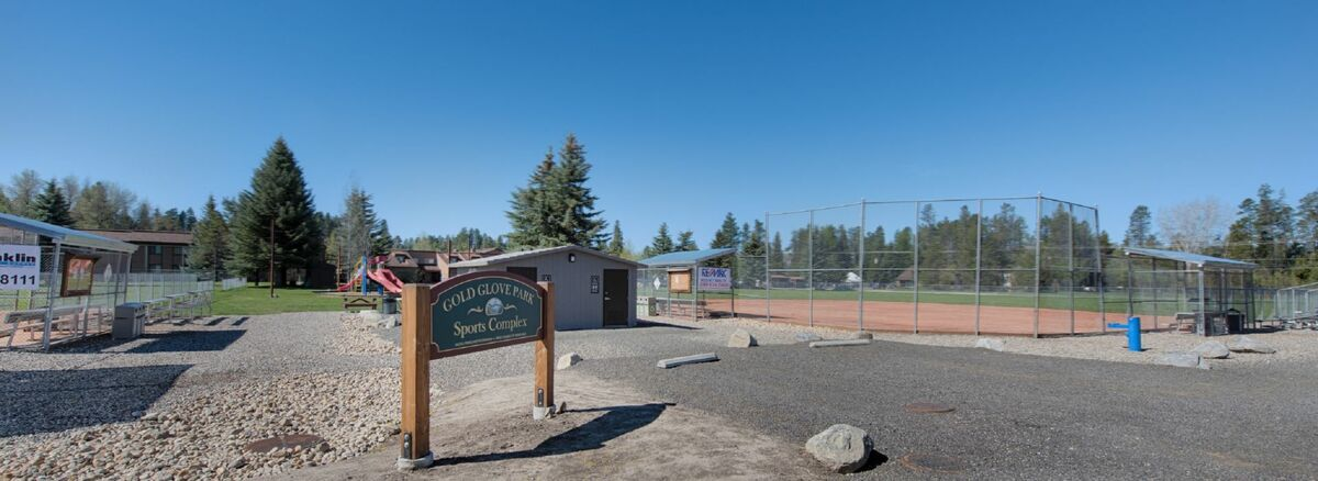 Sports park is located on other side of Davis Avenue.