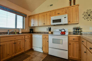 Fully-Equipped Kitchen at Moab Rental