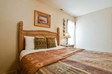 Cozy Bed in Second Bedroom