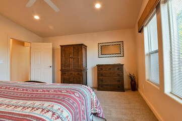 Spacious Master Suite at Moab Rental