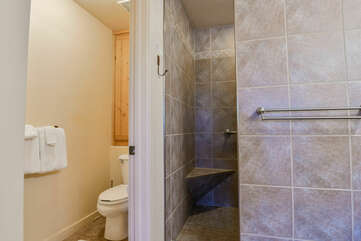 Master Bathroom and Separate Toilet