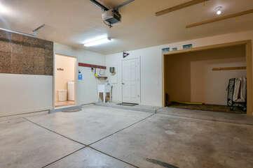 Spacious Enclosed Garage at Rim Village M4