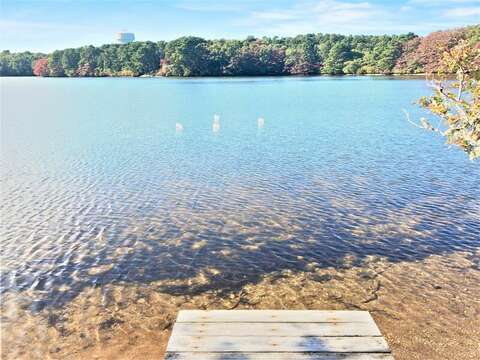Private dock and swimming area -10 Cranberry Hollow Harwich-Cape Cod- New England Vacation Rentals