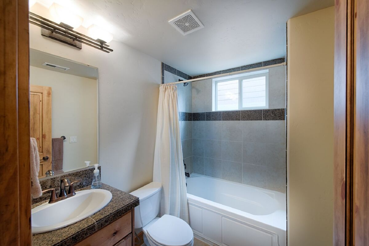 Master bedroom attached bath.