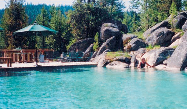 Visit Burgdorf Hot Springs - around 45 minute drive