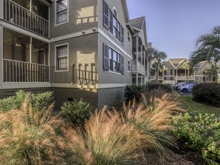 Bay Pointe Villa with beautiful view of the marsh.
