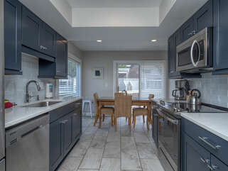 Newly remodeled kitchen with seating for 4!