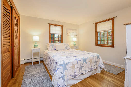 Bedroom #1 - Main Level - 2 Cove Road Harwich Cape Cod - New England Vacation Rentals