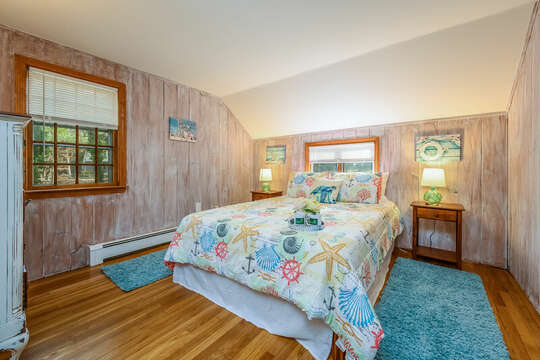 Bedroom #2 - Main Level - 2 Cove Road Harwich Cape Cod - New England Vacation Rentals