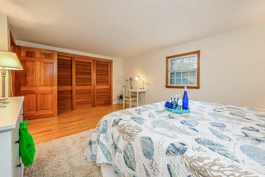 Bedroom #3 - Desk area for remote working or learning - 2 Cove Road Harwich Cape Cod - New England Vacation Rentals