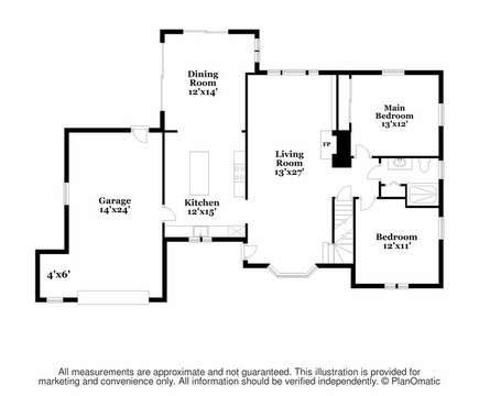 Main Level - Floor Plan - 2 Cove Road Harwich Cape Cod - New England Vacation Rentals