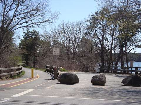 Bike Trail Near by in Harwich - Cape Cod - New England Vacation Rentals