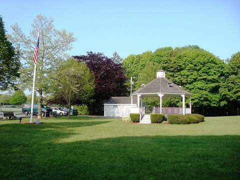 Brooks Park in the center of Harwich - Cape Cod - New England Vacation Rentals
