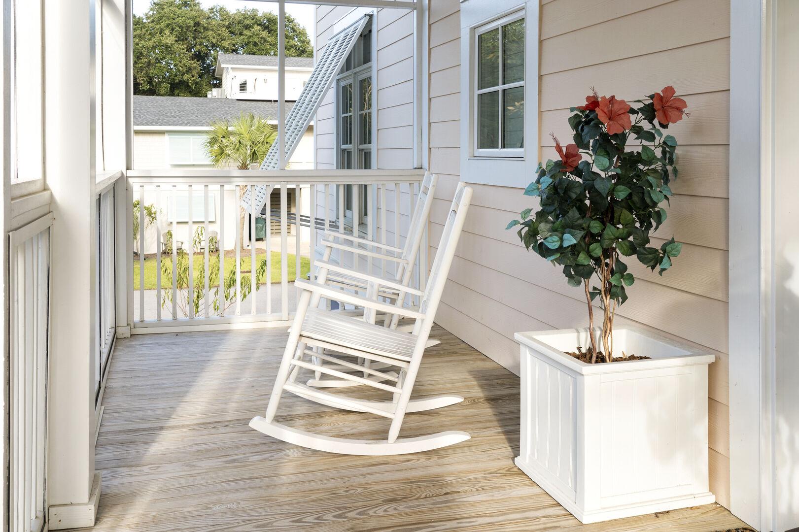 Porch - First Floor
