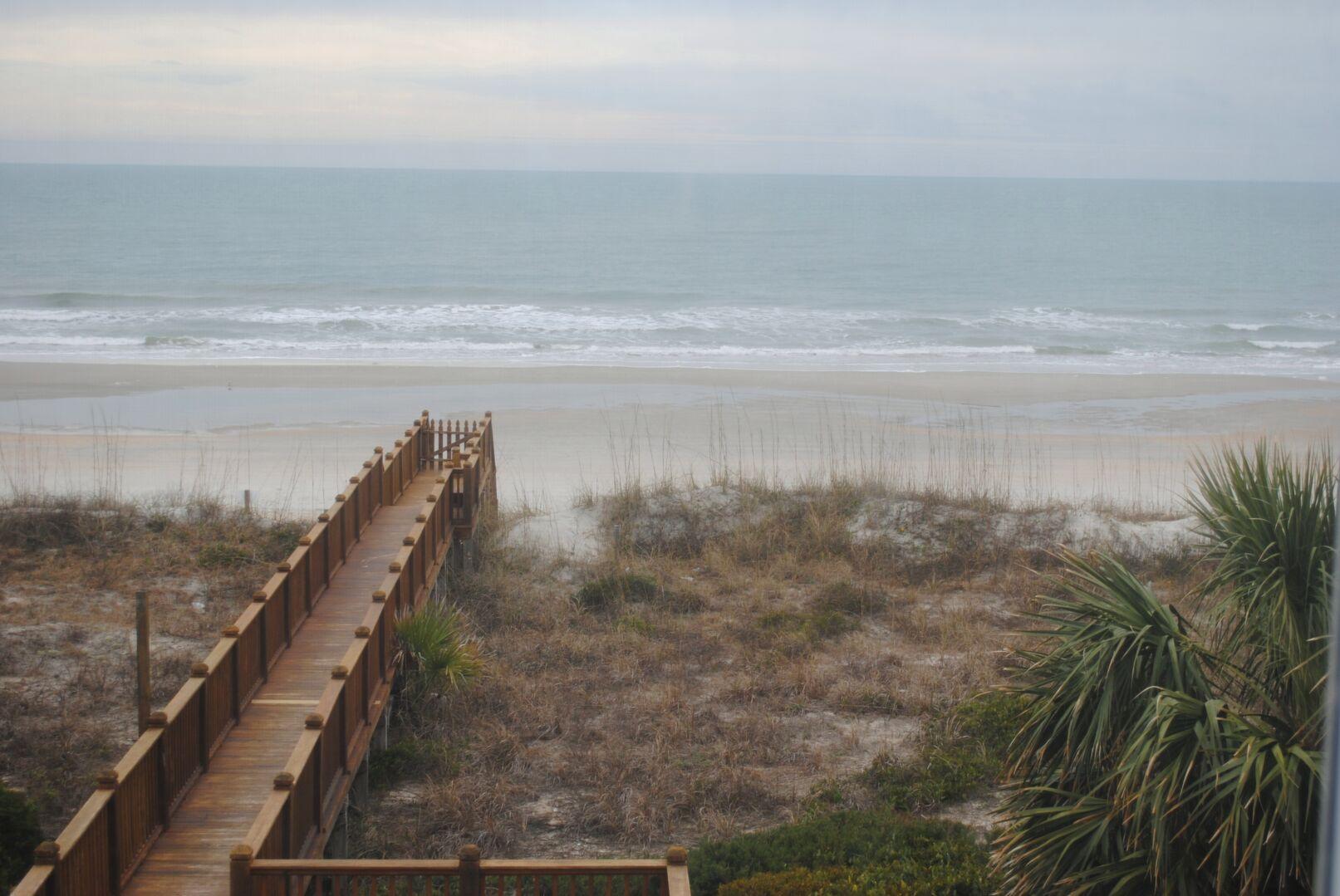 Ocean View from Second Floor