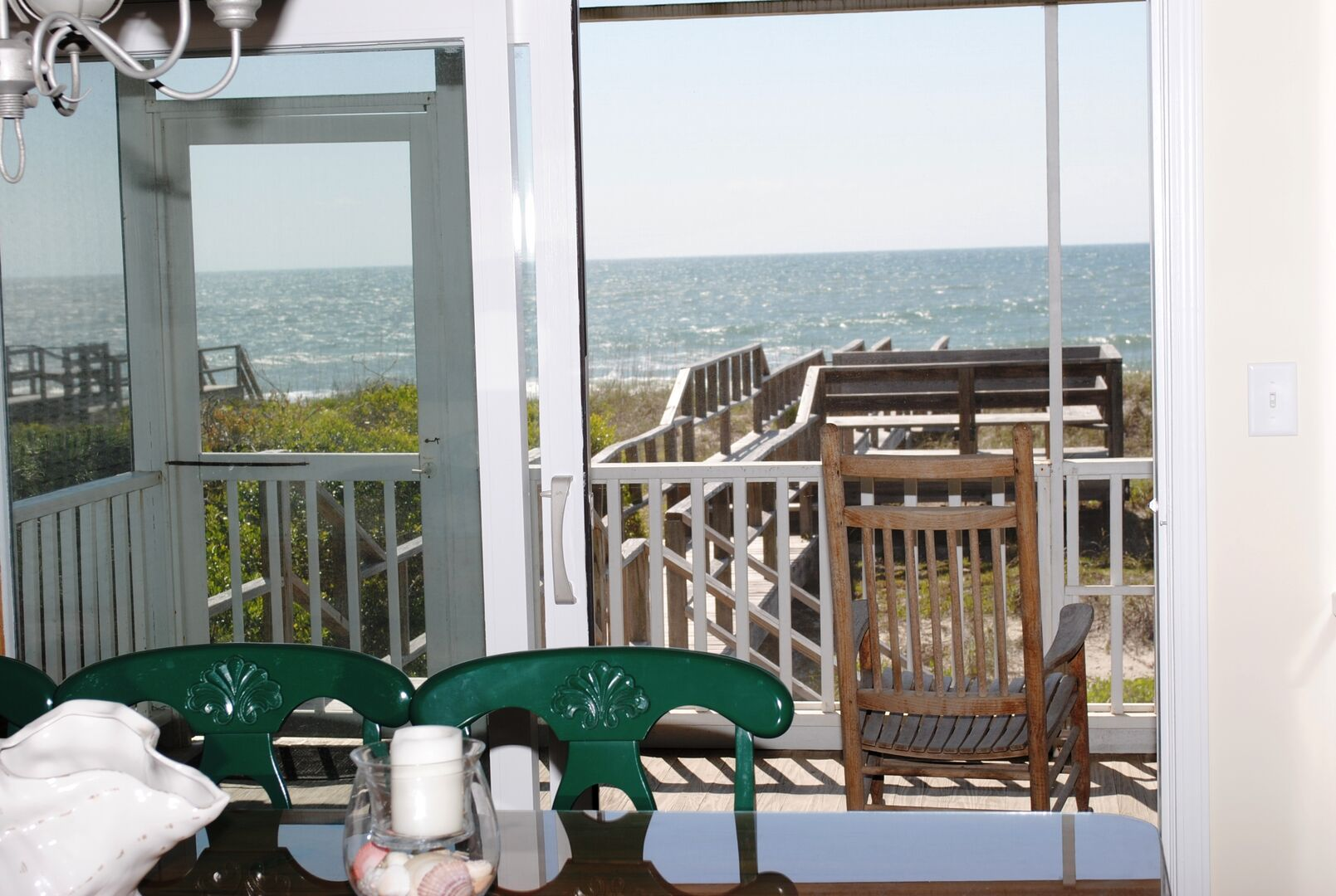 Ocean View from Dining Area