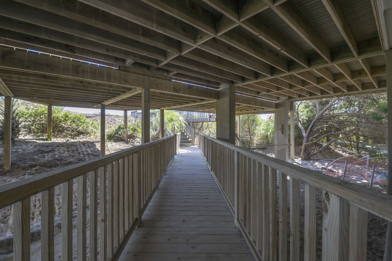 Walkway to Oceanfront Porch