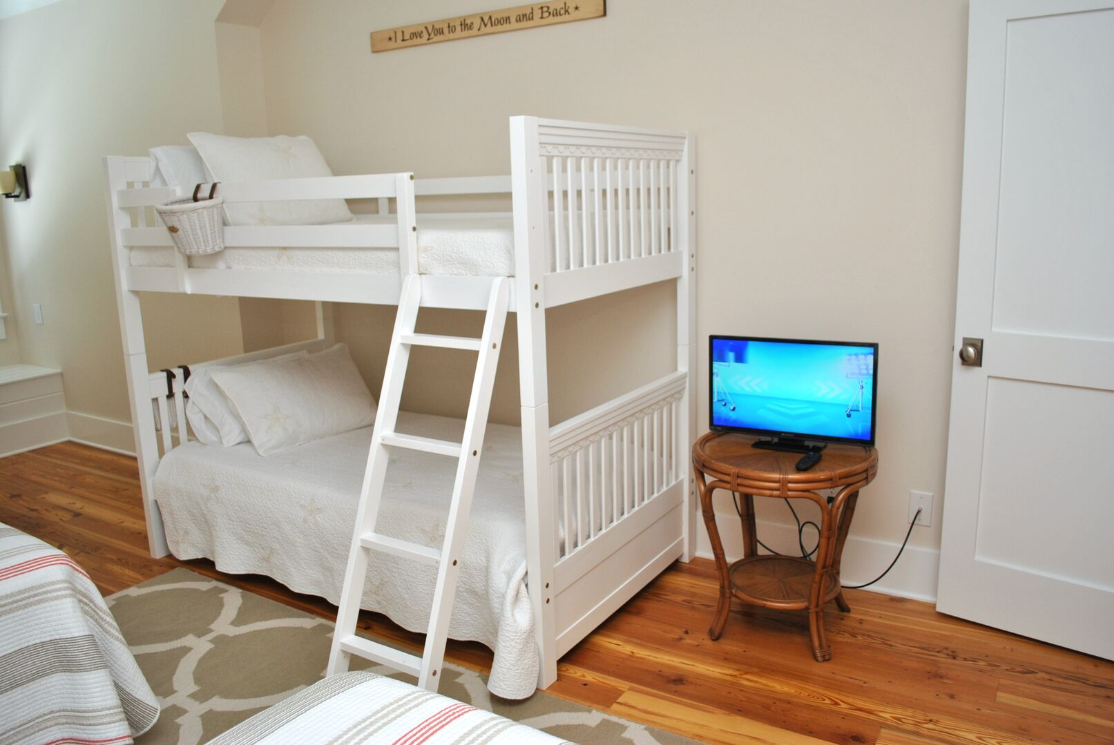 2 Twins and Bunk Bed - Third Floor