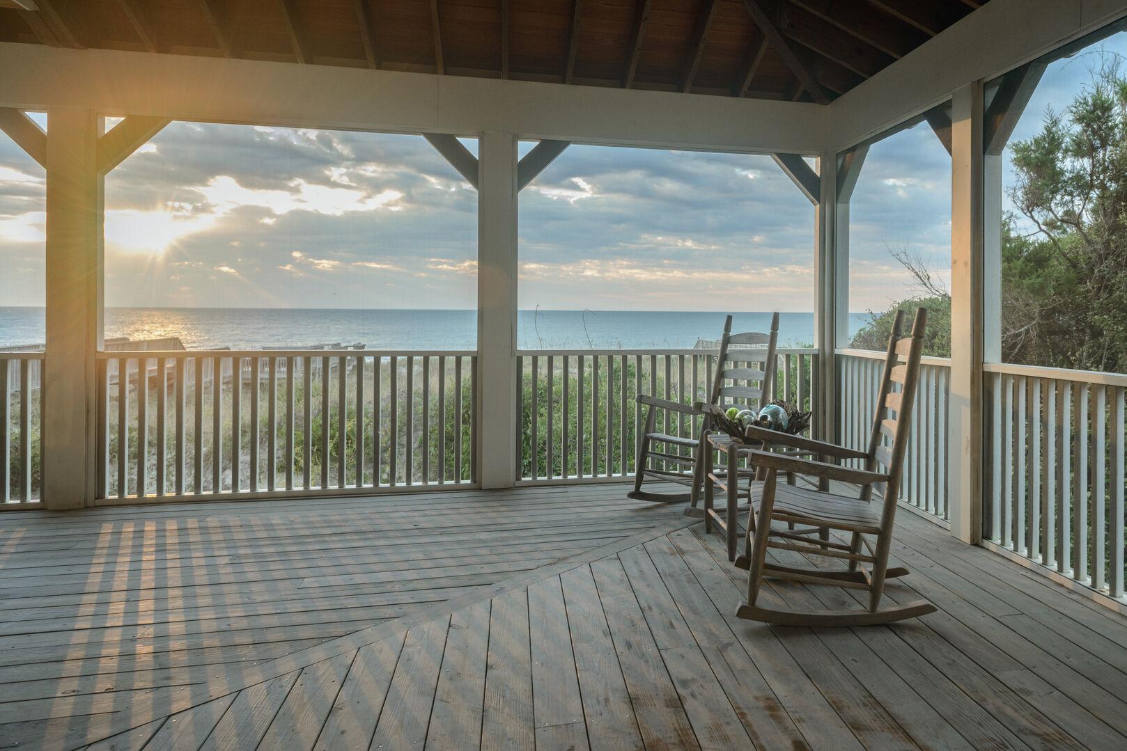 Oceanfront Porch