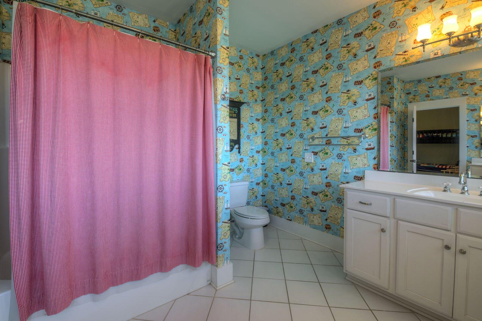 Bunk Beds Bathroom - Second Floor