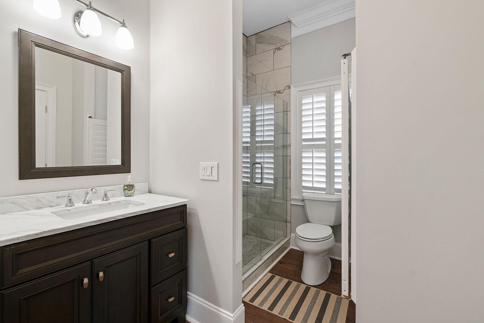 Bathroom Between Queen and Foyer - First Floor