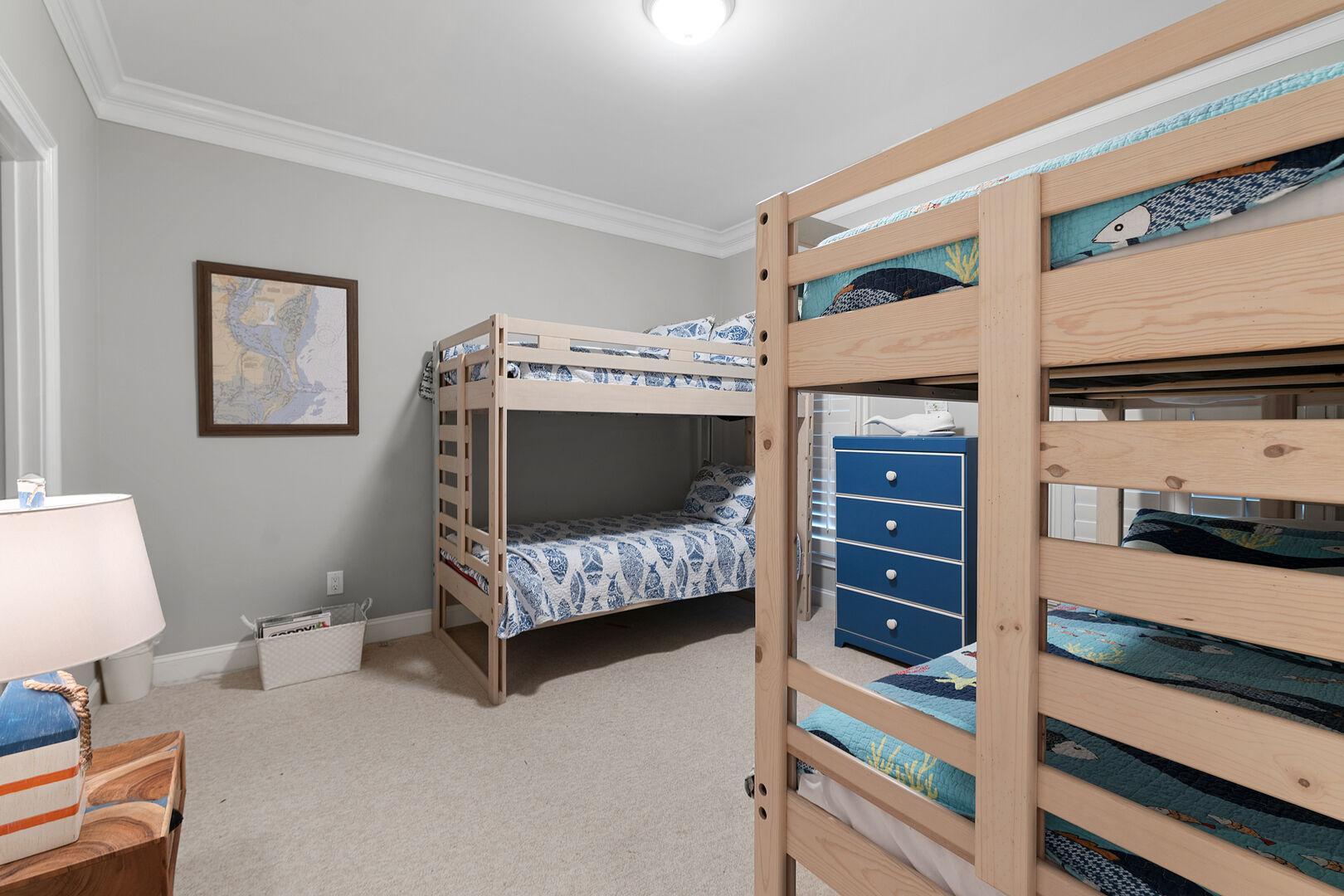 2 Sets of Bunk Beds - Second Floor